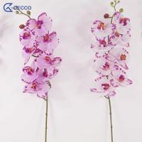 Buy cheap Artificial flower 8 Heads PU Phalaenopsis Orchid product