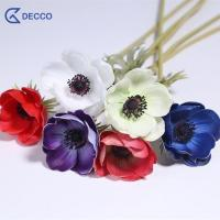 Buy cheap Artificial flower PU Anemone from wholesalers