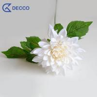 Buy cheap Artificial flower Silk Dahlia from wholesalers