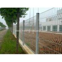 Buy cheap 50x200MM Galvanized 3D Fence Panel from wholesalers