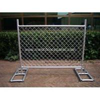 Buy cheap Heavy-Duty Portable Chain Link Fence Panels from wholesalers