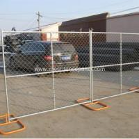 Buy cheap Powder Coated Chain Link Temporary Fencing from wholesalers