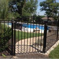 Buy cheap Steel Fence Gate with Bars for Pool product