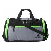 Climaproof Menace Duffel, Grey/Solar Green/Solar Yellow by adidas