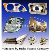 Buy cheap Molded Plastic Components Metalizing Service product