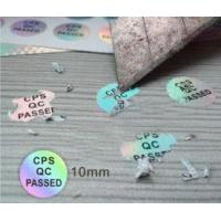 Buy cheap Ultra 3d Hologram Stickers No Discoloration With Customized Holographic product