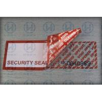 Buy cheap Self - Adhesive Security Tamper Seal Tape For Safety Packing Carton from wholesalers