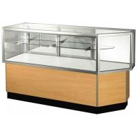 Contempo Series by Waddell SHVCC56M Half Vision Corner Combo by Sturdy Store Displays