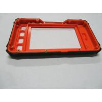 Buy cheap 2 shots over mold manufacturers Electronic Plastic Covers Overmolding metal insert product