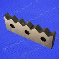 Plastic rubber recycling industry blade