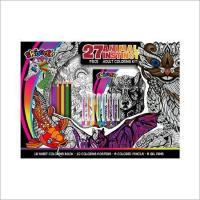 Buy cheap Animal Instinct 27pc. Adult Coloring Kit product