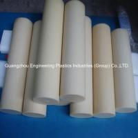 Buy cheap Guangzhou customized plastic material rods tough hard pvc round plastic bar product