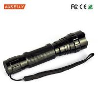 China mini 18650 hight power Ultra Violet led torch nichia purple 365nm uv led flashlight on sale