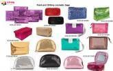 mini bags, makeup pouches, cosmetic bags, toiletry bags
