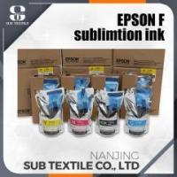 China Epson High Quality Original Sublimation Ink 4 COLOR (C.M.Y.BK) Manufacture Supplier on sale