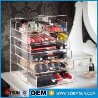 Buy cheap For wholesalers acrylic makeup organizers cosmetic drawer box product