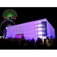 Inflatable Party Tent Item No.: Inflatable Exhibition Cube Tent-9
