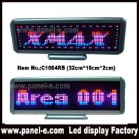 Buy cheap Product: USB rechargeable tri color led desktop sign product
