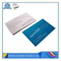 Buy cheap Custom Embossed Business Card with High Quality from wholesalers