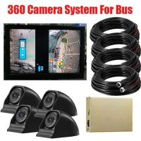 Buy cheap 360 Car Camera System 2D1080P 360 Around view car camera system for bus from wholesalers