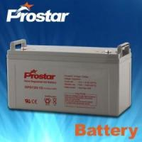 Buy cheap 1 Prostar solar gel battery 12v 120ah GPG120-12 from wholesalers
