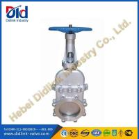 Buy cheap Bidirectional seal non rising stem knife gate valve purpose, 12 gate valve dimensions product