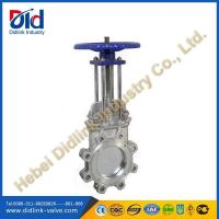 Buy cheap Ansi stainless steel knife gate valve material, rising stem knife gate valve product