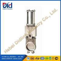Buy cheap Stainless Steel 4 in Knife Gate Valve Metal Seat, underground gate valve product