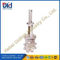 Buy cheap Ansi stainless steel hydraulic velan knife gate valve catalogue, sewer gate valve product