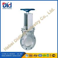 Buy cheap Ansi SS316 non rising stem sluice knife gate valve construction, slurry gate valve product