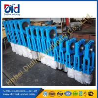 Buy cheap Ductile iron Square roller knife gate valve 8 inch, pn16 knife gate valve product