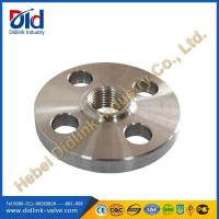 Buy cheap BS 4504 threaded pipe flanges, flanges inox, types of flanges and uses from wholesalers