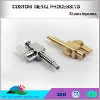 CNC turning motorcycle alloy brass inserts made in China