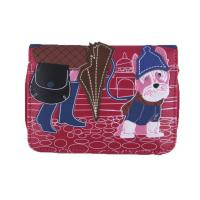 Buy cheap 58011 Girl with dog small purse from wholesalers