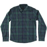 RDS Lumber Flannel Shirt, Green Navy Plaid