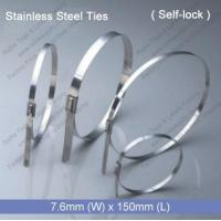 E1272 Stainless Steel Tie (7.6mm x 150mm)