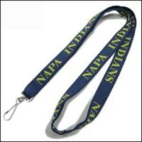 Buy cheap Double Thick Popular Woven Logo Neck Strap product