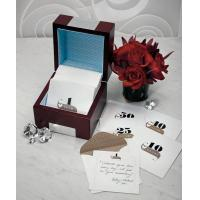 Wooden Memory Note Box with Anniversary Stationery