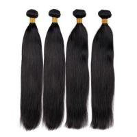 Hot selling wholesale 9A grade virgin brazilian straight hair human extension