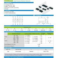 Buy cheap Series UPRND High Precision Resistor Networks from wholesalers