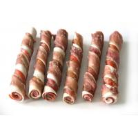 Rabbit Series Product NameRabbit Wrapped Double Colored Rawhide