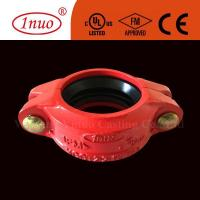 China Fire Fighting Systems Grooved Systems FM/UL/CE Approved Ductile Iron Grooved Flexible Coupling on sale