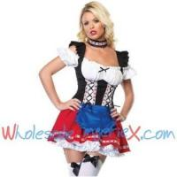 China Plus Size Costumes 2 Piece frisky frauline costume OKC517 on sale