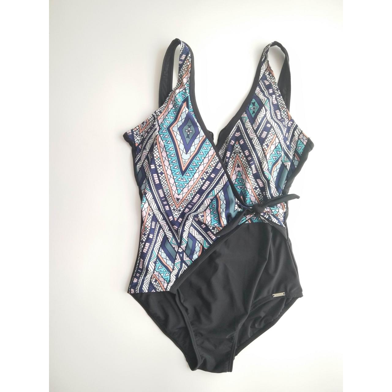 Buy cheap LADIES SWIMSUITS ladies front tie one-piece swimwear product