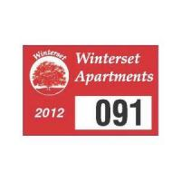Buy cheap Parking Permit Decal product