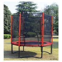 Buy cheap 8' trampoline with safety net product