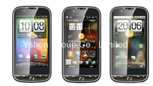 Quality 2011 new WCDMA 3G Android 2.2 Mobile Phone WG2000 3.8'' capacitive screen for sale