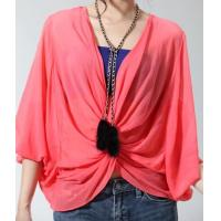 Buy cheap New women lace bat sleeve t-shirt red top NO.MT015-014 RMB:298.00 product