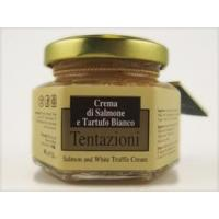 Buy cheap SALMON WITH WHITE TRUFFLE CREAM 90 GR product