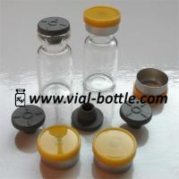 Buy cheap medical grade glass vials 2ml, sterile rubber stoppers and flip top caps product